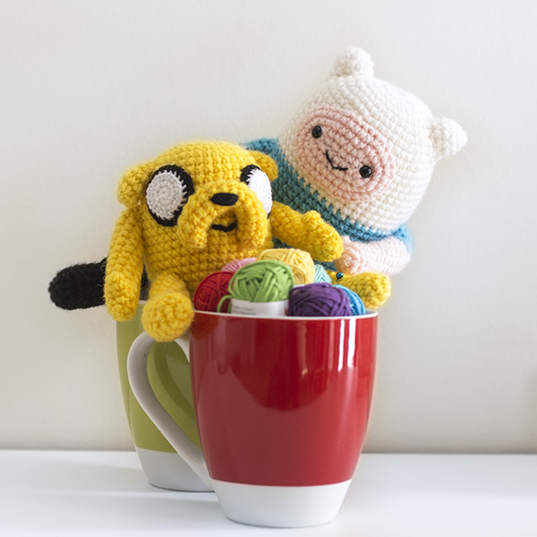 Jake from Adventure Time | Adventure time crochet, Jake adventure ... | 600x600