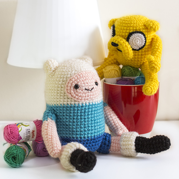 Finn and Jake Amigurumi Pattern PDFs Crochet Patterns | Etsy | 600x600