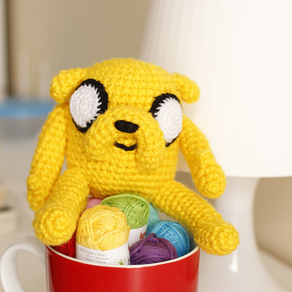 Version Amigurumi Finn y Jake | 600x600