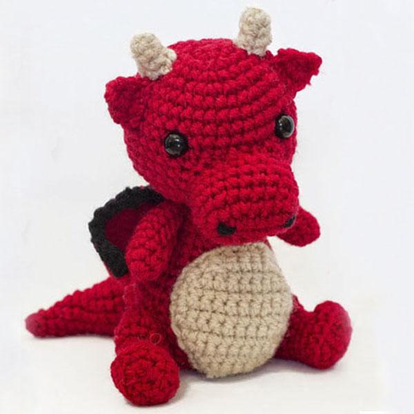 Patrón Amigurumi Bebé Dragón – Amigurumi Duende de los Hilos