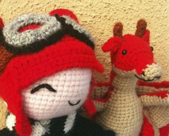 Dragoncito y Niña
