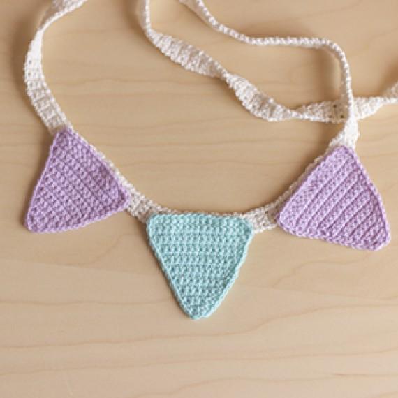 FREE Crochet pennants Patern