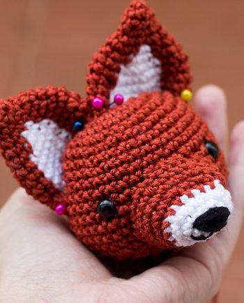 Volpe Portachiavi Amigurumi Tutorial 🦊 Fox Keychain Crochet ...   435x350
