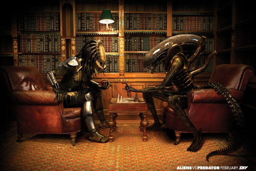 – Yo quiero un alien.