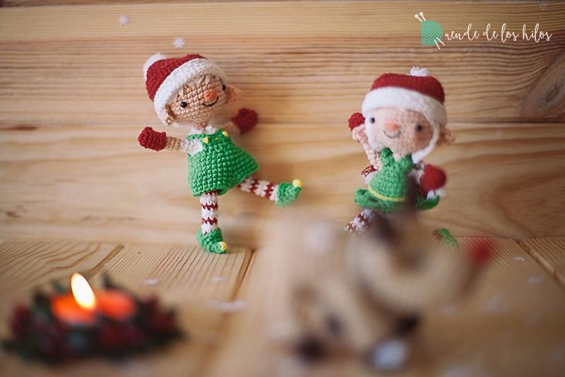 Duende de Navidad, amigurumi patrón de ganchillo. Merry el duende ... | 534x800