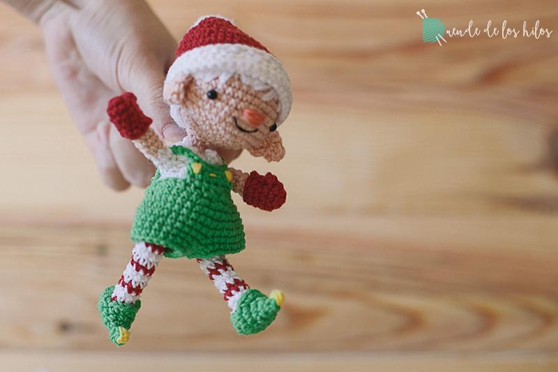 duende de la navidad patrón libre | Amigurumi navideño, Amigurumis ... | 534x800