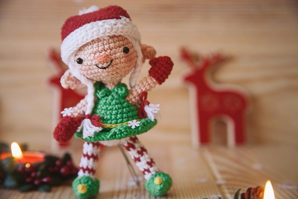 Amigurumi navidad duende 4