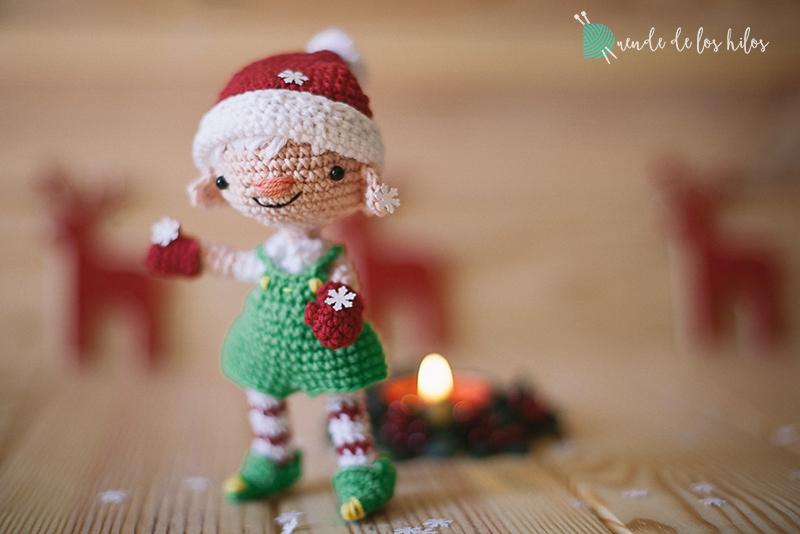 Gnomo Duende Navidad Amigurumi Crochet - $ 130,00 en Mercado Libre | 534x800