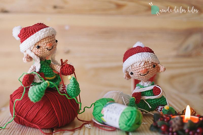 Amigurumi navidad duende 6
