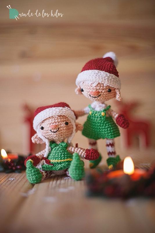 Amigurumi navidad duende 8