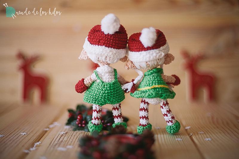 Amigurumi navidad duende 9