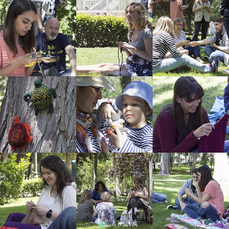 Crochet madrid Retiro (1)