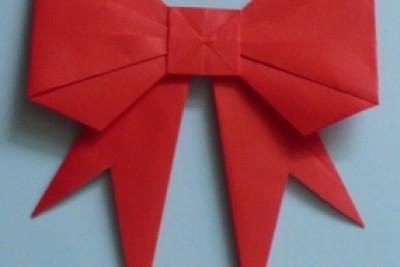 Tutorial: Lazo para regalo Origami