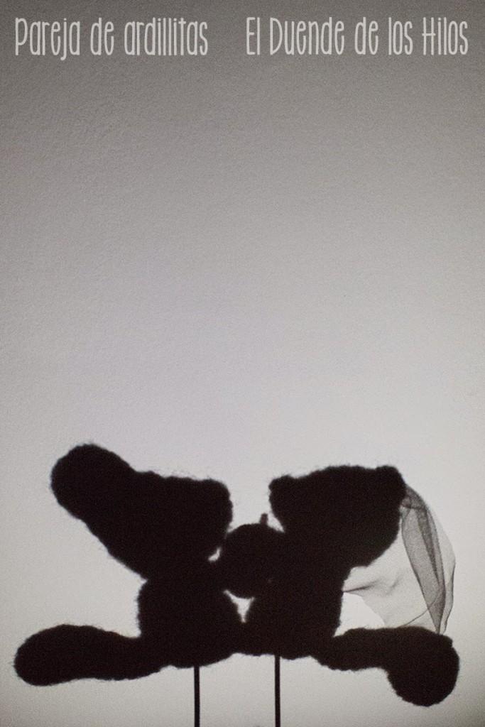 amigurumi ardillas boda