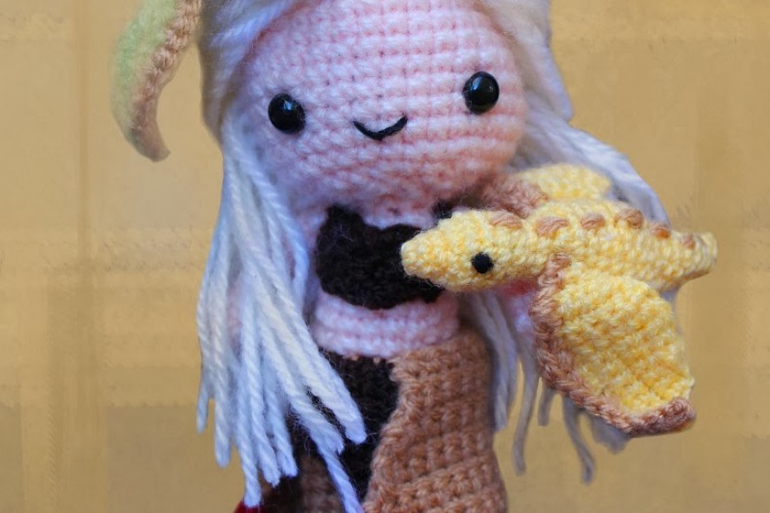 Daenerys Targaryen en Amigurumi!!!