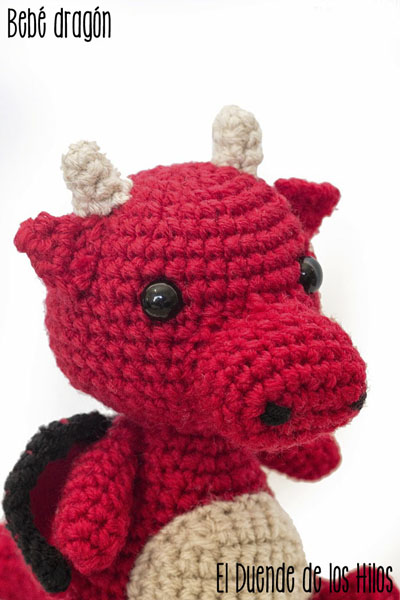 amigurumi dragon 2