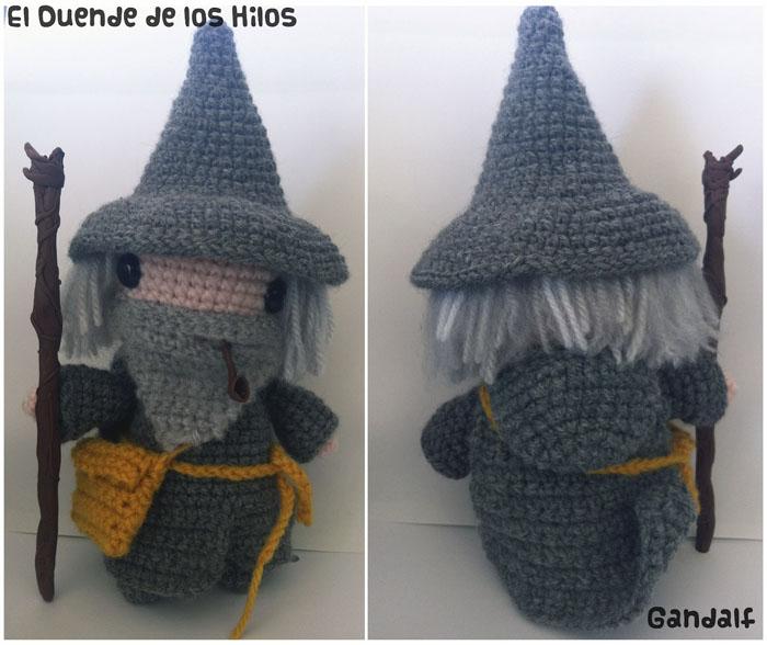 amigurumi gandalf el gris el señor de los anillos 2