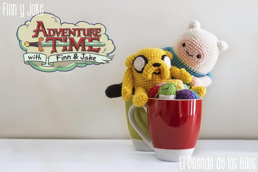 Patrón Crochet Finn el Humano y Jake el Perro – Amigurumi Duende ... | 600x900