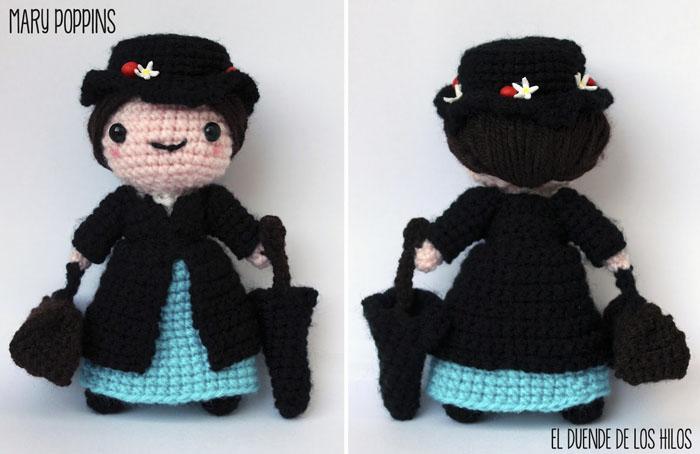 amigurumi mary poppins 2