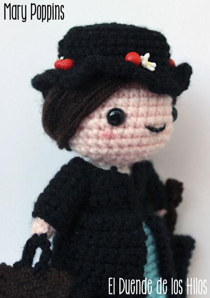 amigurumi mary poppins