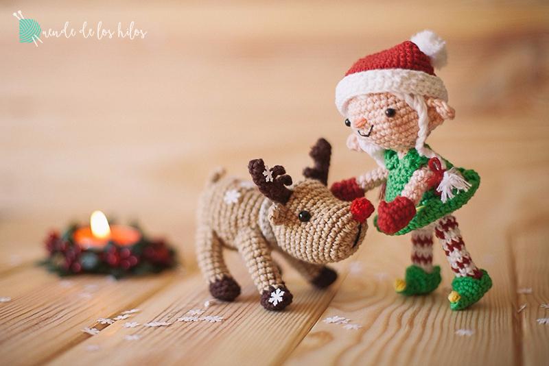 amigurumi navidad reno 3