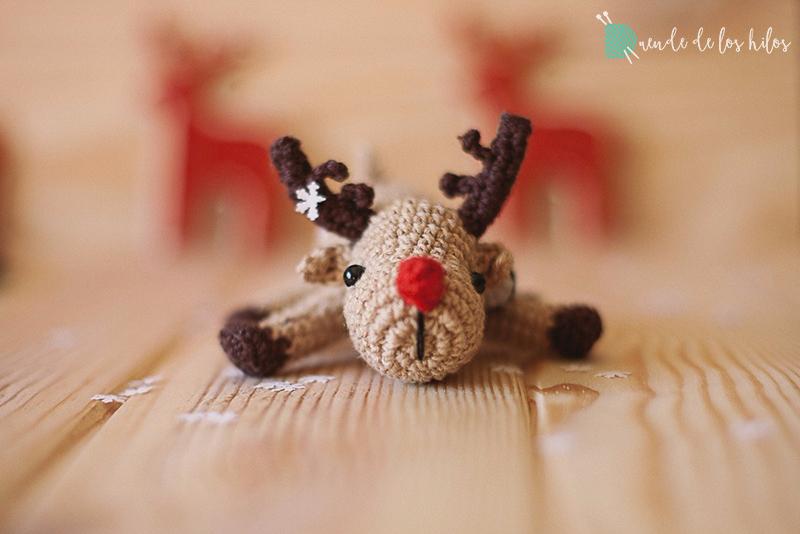 amigurumi navidad reno