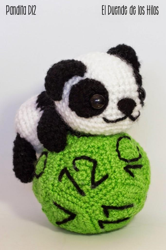 amigurumi oso panda rol