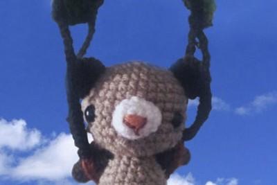 Norbit, el oso paracaidista!
