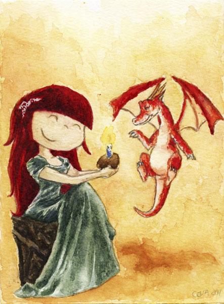 amigurumi personalizado niña dragon 2