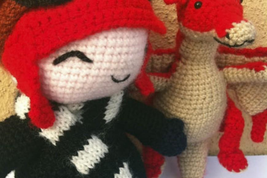 Encargo para Cova: Niña y Dragón!