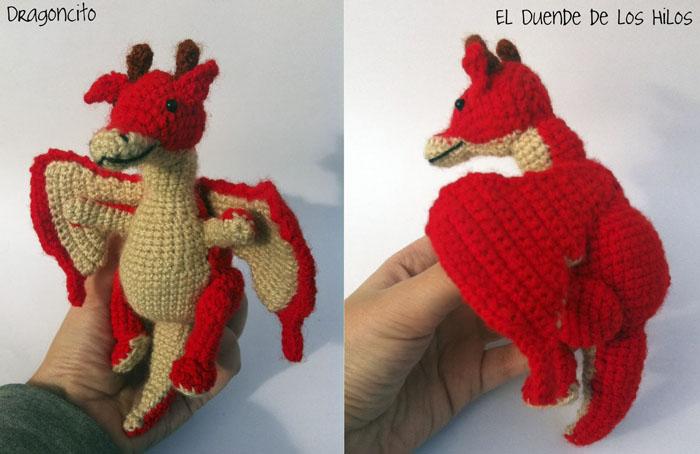 amigurumi personalizado niña dragon 4