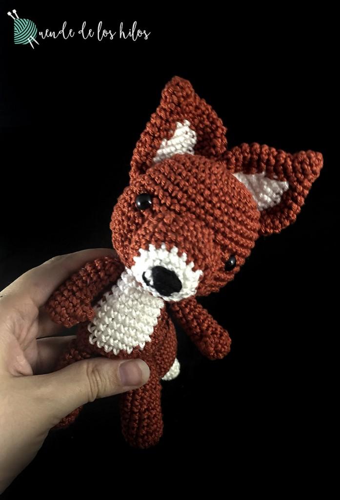 amigurumi zorro rojo 3