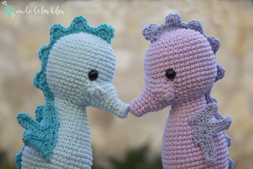 Amigurumis Caballitos A Crochet : Caballitos piscineros u amigurumi duende de los hilos