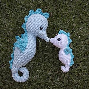 Patrón Crochet Caballito De Mar