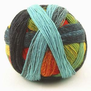 lana multicolor tejer 2