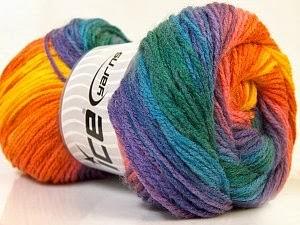 lana multicolor tejer 3