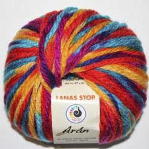 lana multicolor tejer 8