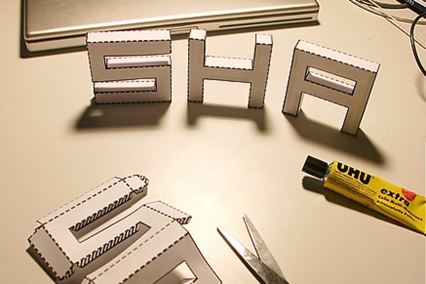 Letras para decorar en 3d