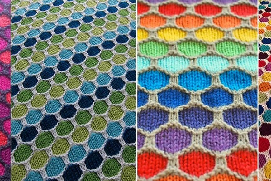 Honeycomb Stroller y el punto Wave Stitch