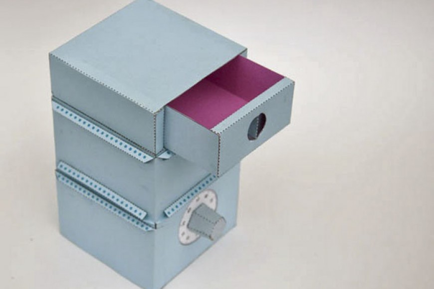 Caja fuerte papel