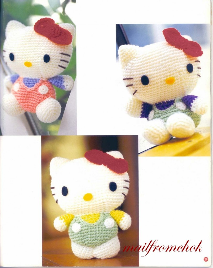 patron amigurumi hello kitty 2