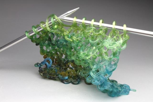 tejer dos agujas cristal 2