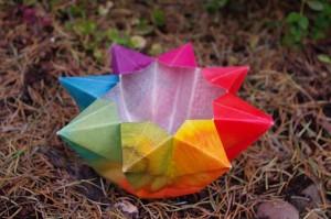 velas origami