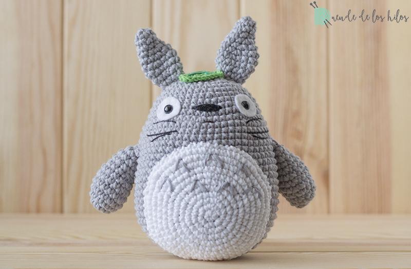 Amigurumi Totoro : Totoro ¡patrón gratis u amigurumi duende de los hilos