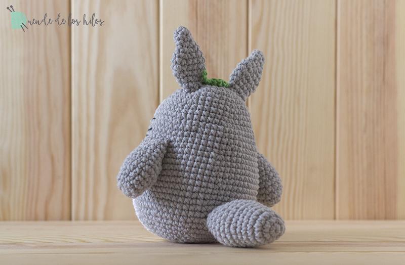 Totoro: ¡Patrón gratis! – Amigurumi Duende de los Hilos