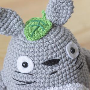 Patron Totoro Amigurumi Duende de los Hilos