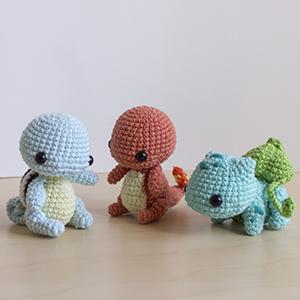 Amigurumi Receitas Português - Pokémon Crochê Receitas Top #17 ... | 300x300