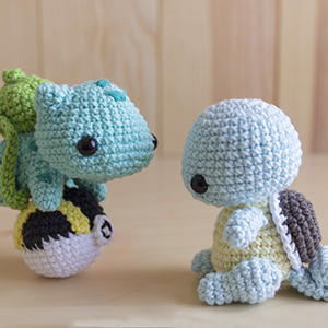 Patrones Amigurumi Pack Starters Pokémon Pikachu Gratis | Etsy | 300x300