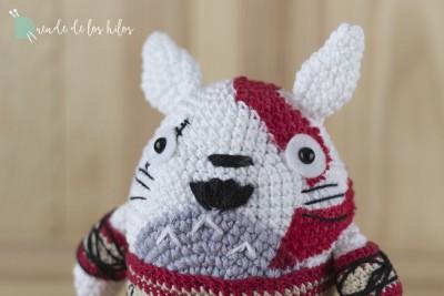 Totoro Kratos Amigurumi