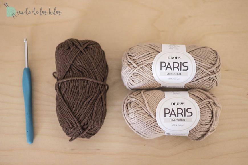 Materiales: DROPS París